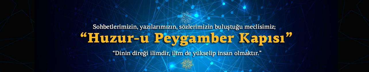 Huzur-u Peygamber Banner